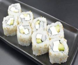 Cheese and Avocado Rolls