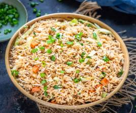 Special Fried Rice Vegetables